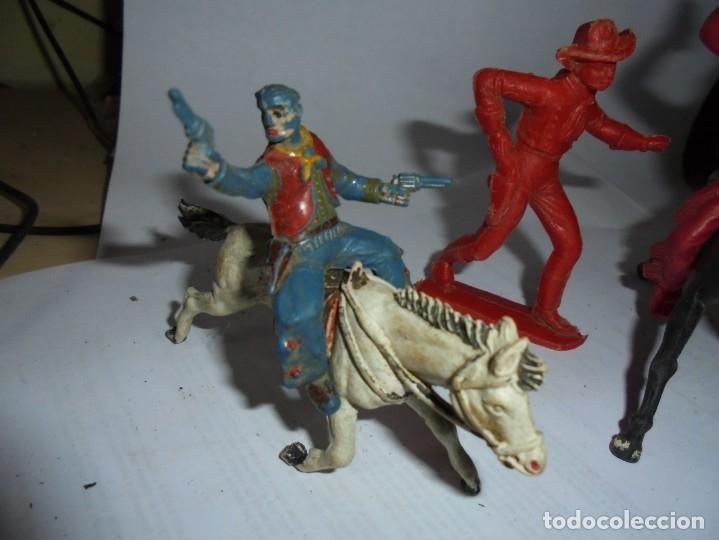 Figuras de Goma y PVC: magnificas 5 figuras antiguas - Foto 2 - 172968240