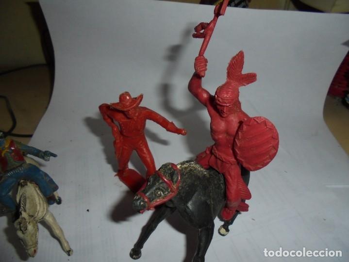 Figuras de Goma y PVC: magnificas 5 figuras antiguas - Foto 3 - 172968240