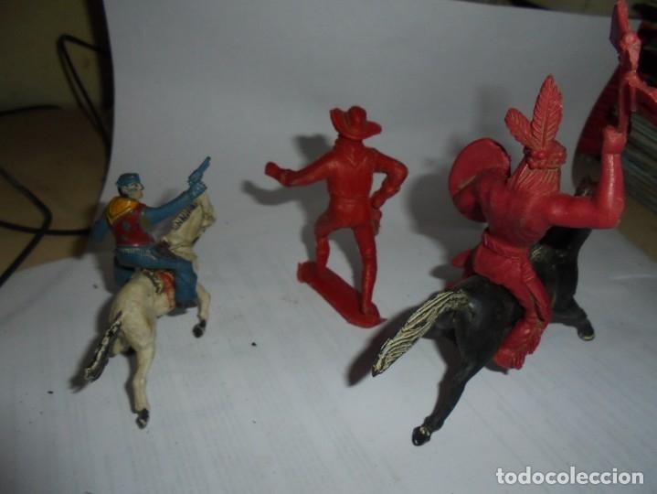 Figuras de Goma y PVC: magnificas 5 figuras antiguas - Foto 4 - 172968240