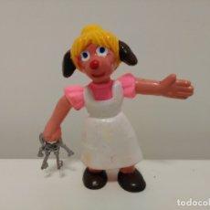 Figuras de Goma y PVC: FIGURA DE SEÑORA HUDSON DE LA SERIE SHERLOCK HOLMES DE YOLANDA. Lote 172984433