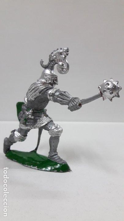 Figuras de Goma y PVC: GUERRERO MEDIEVAL . REALIZADO POR LAFREDO . AÑOS 60 - Foto 2 - 173004392