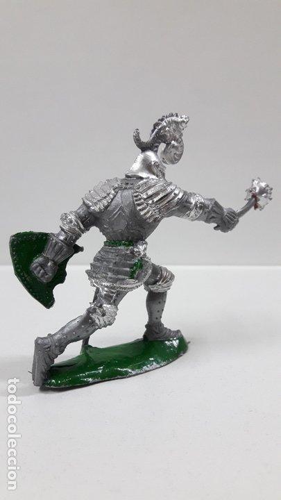 Figuras de Goma y PVC: GUERRERO MEDIEVAL . REALIZADO POR LAFREDO . AÑOS 60 - Foto 4 - 173004392