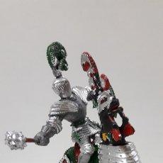 Figuras de Goma y PVC: GUERRERO MEDIEVAL A CABALLO . REALIZADO POR LAFREDO . AÑOS 60. Lote 173004455