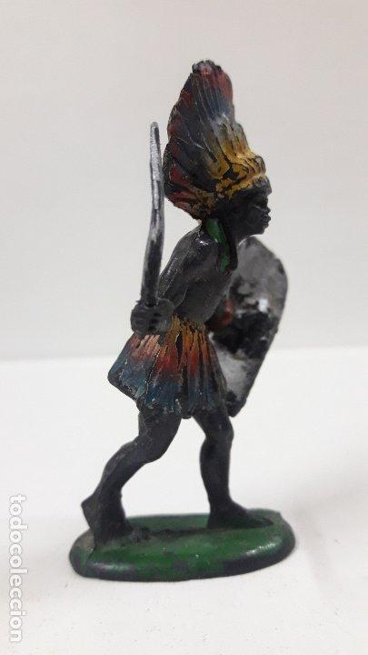 Figuras de Goma y PVC: GUERRERO AFRICANO KAKUANA . REALIZADO POR PECH . AÑOS 50 EN GOMA - Foto 4 - 173152679