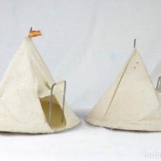 Figuras de Goma y PVC: 2 TIENDAS CIRCULARES -CAPELL-. Lote 173403497