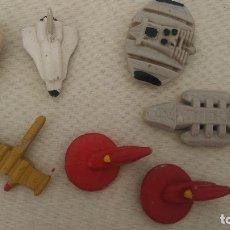 Figuras de Goma y PVC: FIGURAS NAVES DE GOMA AÑOS 80 STAR TREK, STAR WARS... Lote 173441304
