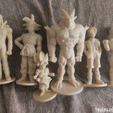 Figuras de Goma y PVC: LOTE 6 FIGURAS DRAGON BALL GT- SON GOKU+ PERSONAJES EN VINILO POR PINTAR, 1996.. Lote 190894680