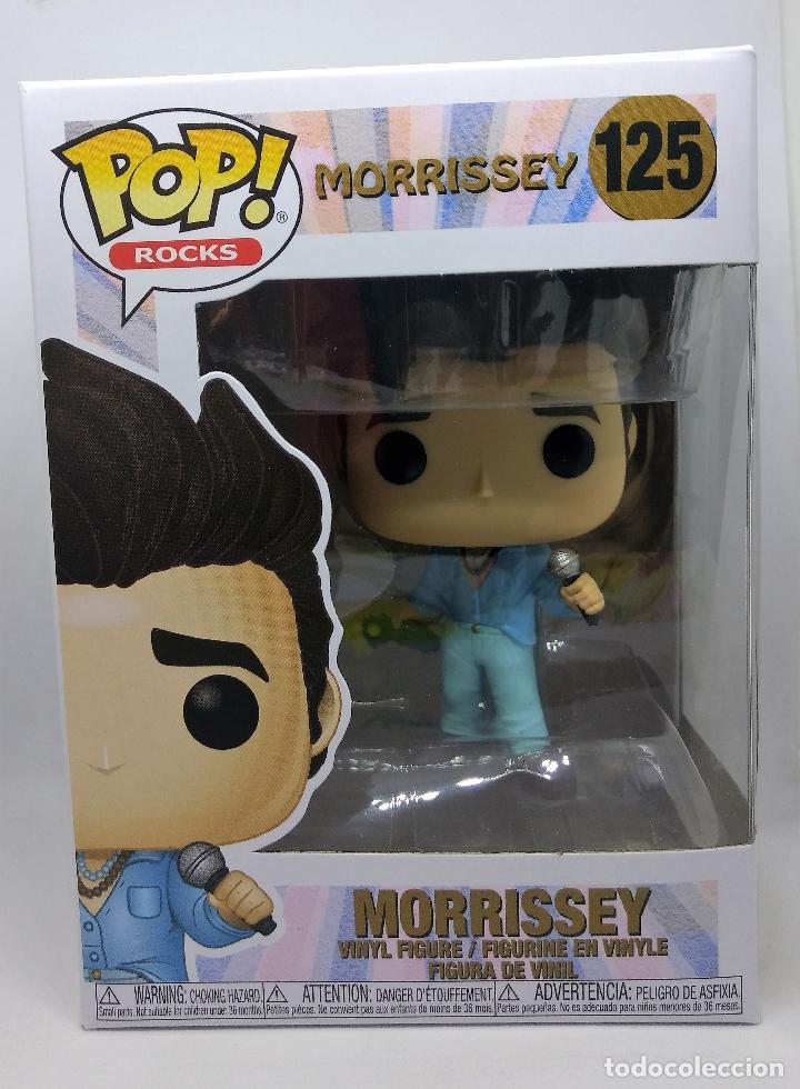 Figuras de Goma y PVC: Funko Figura POP Morrissey Figura vinilo Funko POP de 9cm en caja original - Foto 2 - 173623963
