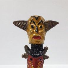 Figuras de Goma y PVC: TOTEM INDIO . FIGURA REAMSA Nº 30 . AÑOS 50 EN GOMA. Lote 173713085