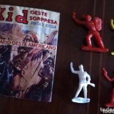 Figuras de Goma y PVC: SOBRE SORPRESA KID OESTE. Lote 173765058