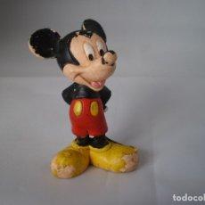 Figuras de Goma y PVC: FIGURA PVC GOMA - MUÑECO MICKEY DISNEY WALT BULLYLAND BULLY. Lote 173804885