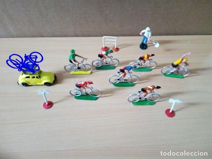 LOTE VUELTA CICLISTA DE MANEL SOTORRES AÑOS 60 (Juguetes - Figuras de Goma y Pvc - Sotorres)