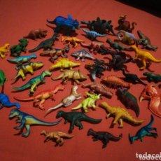 Figuras de Goma y PVC: LOTE 42 DINOSAURIOS. Lote 173942445