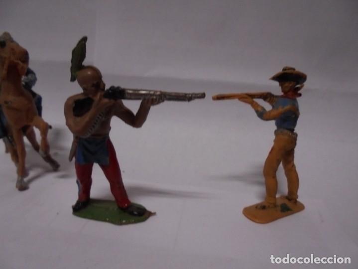 Figuras de Goma y PVC: magnificas 4 figuras antiguas de comansi - Foto 2 - 173970967
