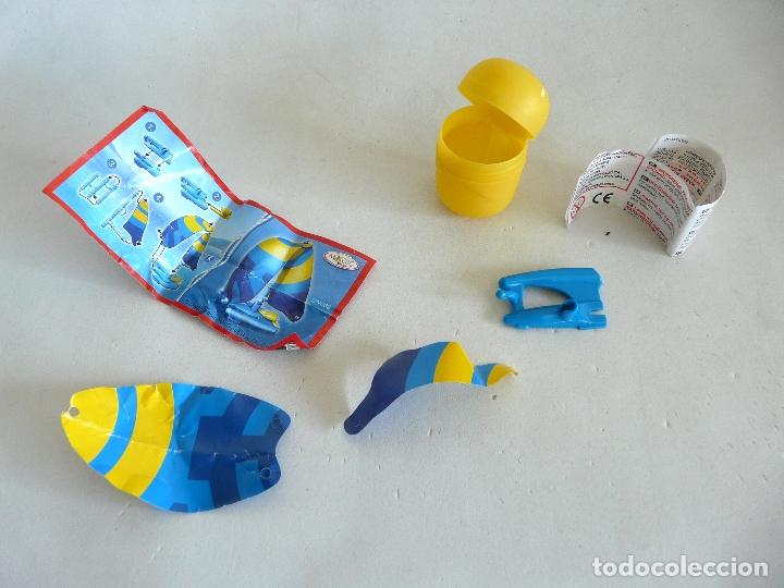 Figuras Kinder: MOTO SPRINTY DE KINDER SORPRESA CON INSTRUCCIONES Y ENVASE + REGALO - Foto 3 - 174012247