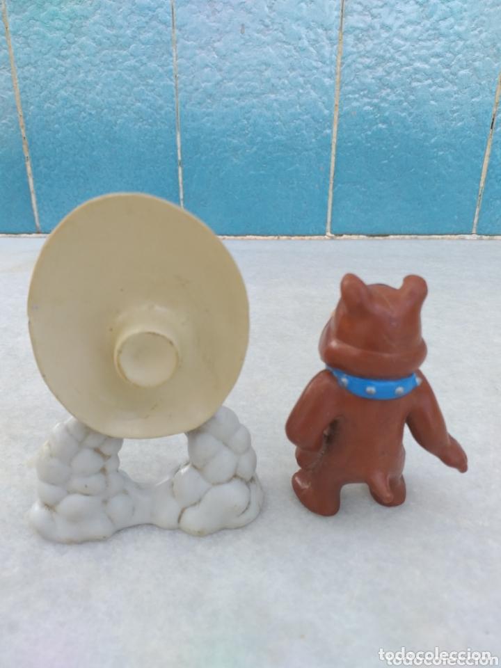 Figuras de Goma y PVC: FIGURA SAM BIGOTES Y PERRO SPIKE DE TOM Y YERRY - Foto 3 - 174035997