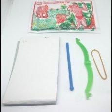Figuras de Goma y PVC: SOBRE LAS SORPRESAS DE TARZAN CON ARCO. Lote 174042758