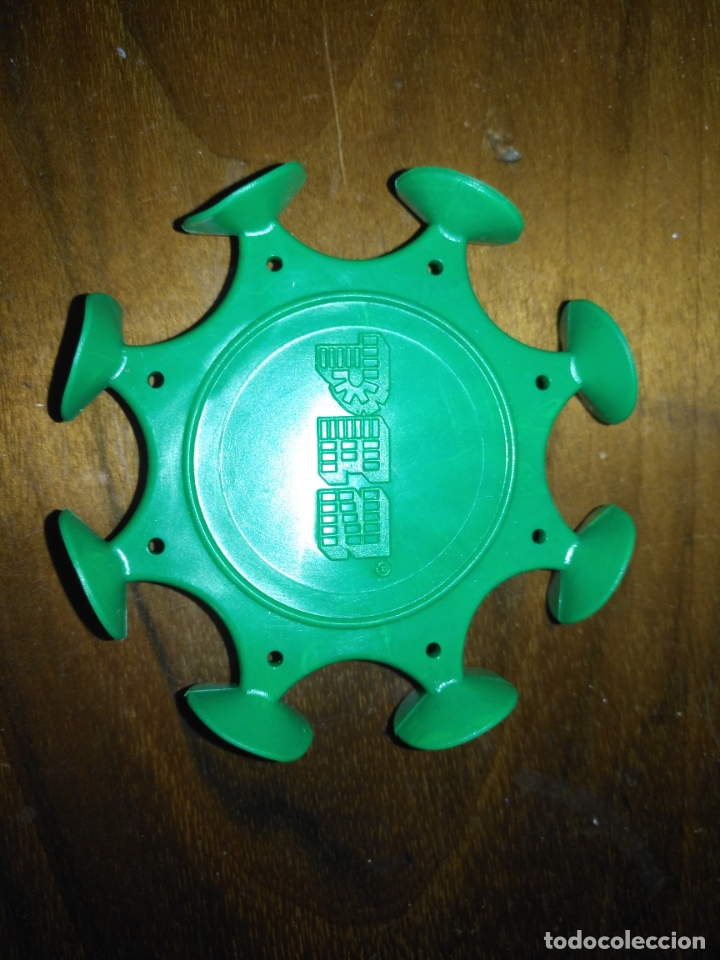 Dispensador Pez: DISPARADOR GOMA VENTOSAS DE PEZ patentado lote de 4 colores de los dispensadores DIFISILISIMOS - Foto 2 - 174101903