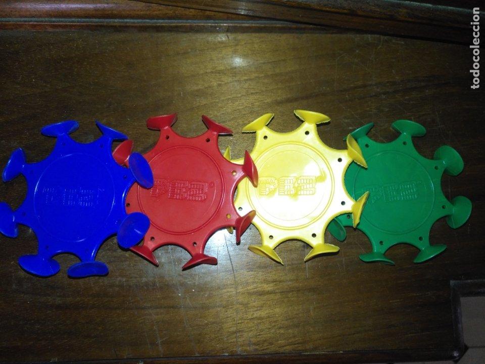 Dispensador Pez: DISPARADOR GOMA VENTOSAS DE PEZ patentado lote de 4 colores de los dispensadores DIFISILISIMOS - Foto 3 - 174101903