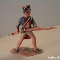 Figuras de Goma y PVC: FIGURA DE PLÁSTICO SOLDADO NAPOLEÓNICO SERIE GUERRA DE LA INDEPENDENCIA REAMSA. Lote 174146054