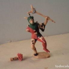 Figuras de Goma y PVC: FIGURA DE PLÁSTICO BUFÓN SERIE CORTE DEL CASTILLO FEUDAL REAMSA. Lote 174146920