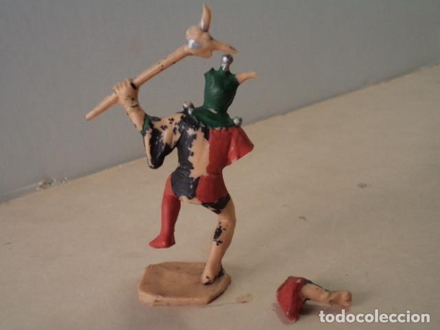 Figuras de Goma y PVC: FIGURA DE PLÁSTICO BUFÓN SERIE CORTE DEL CASTILLO FEUDAL REAMSA - Foto 2 - 174146920