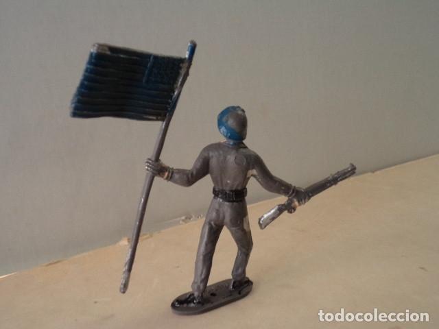 Figuras de Goma y PVC: FIGURA DE PLÁSTICO SOLDADO AMERICANO COMANSI - Foto 2 - 174148724
