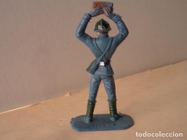 Figuras de Goma y PVC: FIGURA DE PLÁSTICO SOLDADO FRANCÉS COMANSI - Foto 2 - 174148964