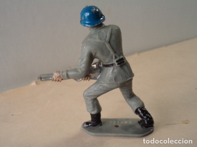 Figuras de Goma y PVC: FIGURA DE PLÁSTICO SOLDADO ESPAÑOL COMANSI - Foto 2 - 174149314