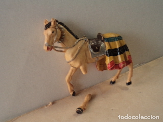 Figuras de Goma y PVC: FIGURA DE PLÁSTICO CABALLO SERIE FERIA DE SEVILLA COMANSI - Foto 2 - 174149444