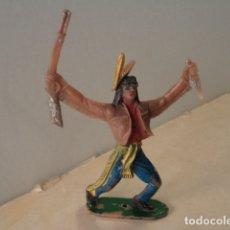 Figuras de Goma y PVC: FIGURA DE PLÁSTICO INDIO COMANSI. Lote 174149725