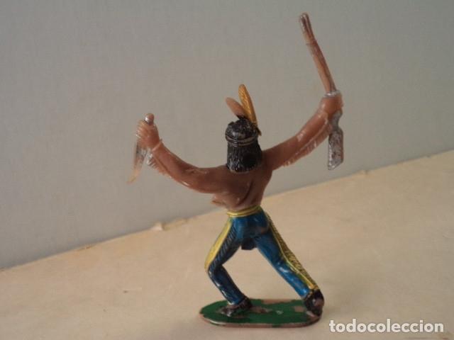 Figuras de Goma y PVC: FIGURA DE PLÁSTICO INDIO COMANSI - Foto 2 - 174149725