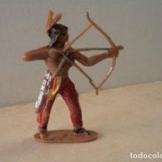 Figuras de Goma y PVC: FIGURA DE PLÁSTICO INDIO COMANSI. Lote 174149828