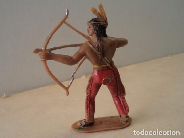 Figuras de Goma y PVC: FIGURA DE PLÁSTICO INDIO COMANSI - Foto 2 - 174149828