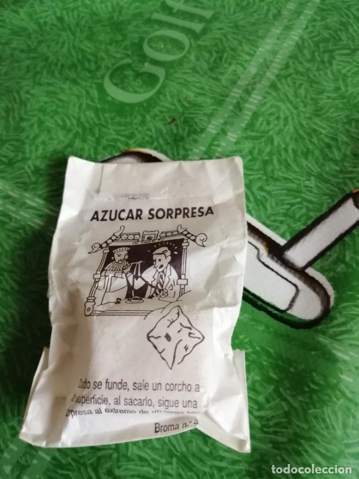ANTIGUO SOBRE DE AZUCAR DE BROMA (Juguetes - Figuras de Goma y Pvc - Pipero)