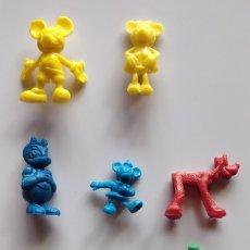 Figuras de Goma y PVC: PACK LOTE 8 FIGURAS DISNEY, PLÁSTICO, DUNKIN. Lote 174170065