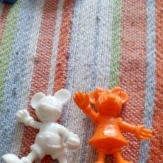 Figuras de Goma y PVC: FIGURA MUÑECO MICKEY Y MINIE MOUSE PROMOCIONAL DE DANONE . Lote 174173523