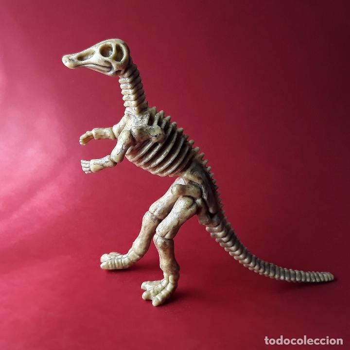 Figuras de Goma y PVC: Hadrosaurus esqueleto dinosaurio de plástico animales prehistóricos - Foto 2 - 174188632