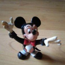 Figuras de Goma y PVC: FIGURA PVC MICKEY MOUSE COMICS SPAIN DIRECTOR DE ORQUESTA,WALT DISNEY. Lote 174202404