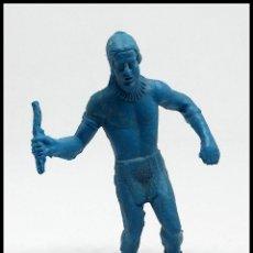Figuras de Goma y PVC: FIGURA PLASTICO COMANSI OESTE INDIO PECH REAMSA LAFREDO REIGON. Lote 174224663