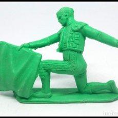 Figuras de Goma y PVC: FIGURA PLASTICO TORERO JECSAN AÑOS 70. Lote 174226050