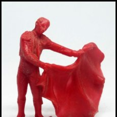 Figuras de Goma y PVC: FIGURA PLASTICO TORERO JECSAN AÑOS 70. Lote 174226073