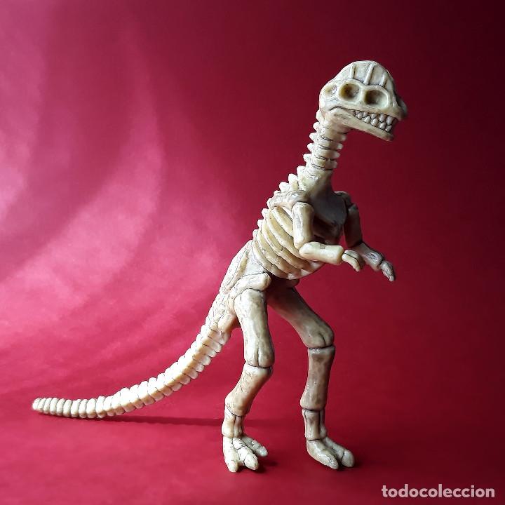DILOPHOSAURUS ESQUELETO DINOSAURIO DE PLÁSTICO ANIMALES PREHISTÓRICOS (Juguetes - Figuras de Goma y Pvc - Otras)