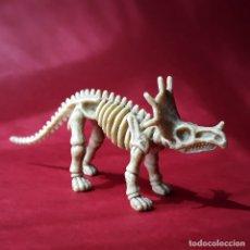 Figuras de Goma y PVC: STYRACOSAURUS ESQUELETO DINOSAURIO DE PLÁSTICO ANIMALES PREHISTÓRICOS. Lote 174253585
