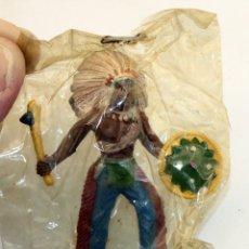 Figuras de Goma y PVC: SOTORRES - SERIE INDIOS Y AMERICANOS - FIGURA DE GOMA - 60MM - EN SU BOLSA ORIGINAL - NUEVO. Lote 174255877