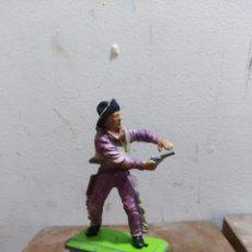 Figure di Gomma e PVC: FIGURA VAQUERO AMERICANO OESTE FART WEST DE BRITAIN'S DETAIL MADE I ENGLAND L 1971 . Lote 174401434