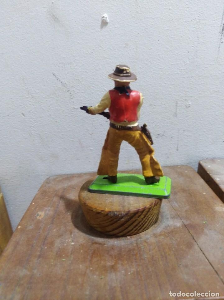 Figuras de Goma y PVC: figura vaquero americano oeste fart west de Britains detail made I england l 1971 - Foto 2 - 174401585