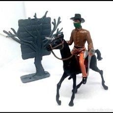 Figuras de Goma y PVC: VAQUERO OESTE COMANSI JECSAN CUSTOM MAS CARTEL . Lote 174466493