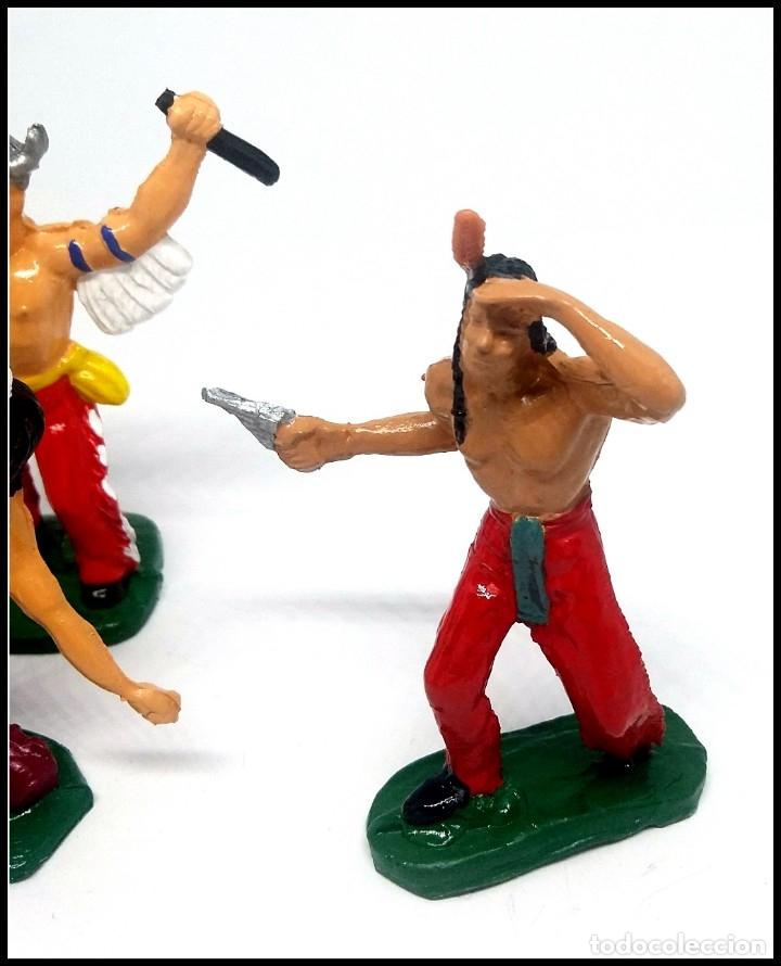 Figuras de Goma y PVC: LOTE INDIOS OESTE COMANSI JECSAN REAMSA CUSTOM MAS ACCESORIO - Foto 2 - 174466668