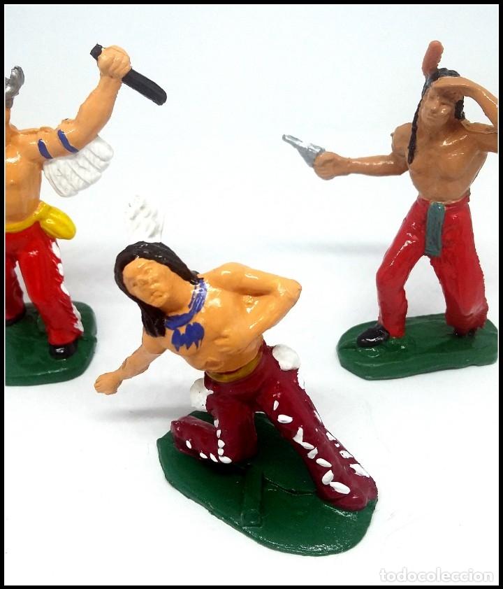 Figuras de Goma y PVC: LOTE INDIOS OESTE COMANSI JECSAN REAMSA CUSTOM MAS ACCESORIO - Foto 4 - 174466668